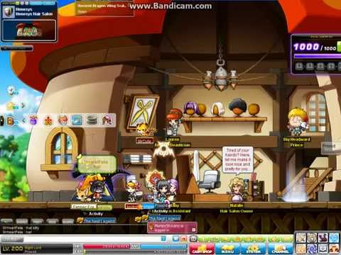 MapleStory All Star hair coupon Part 2