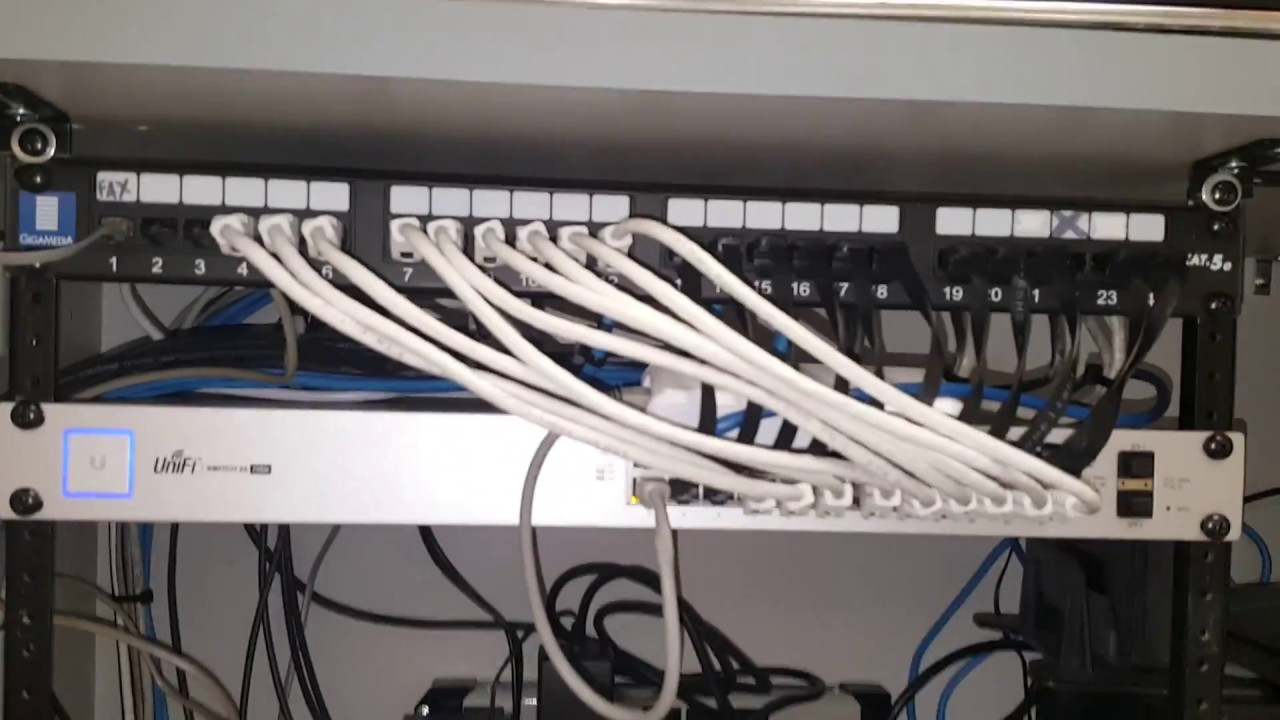 Network Wall Jack Wiring Diagram 018 Quick Tip For Reducing Cable Management Youtube