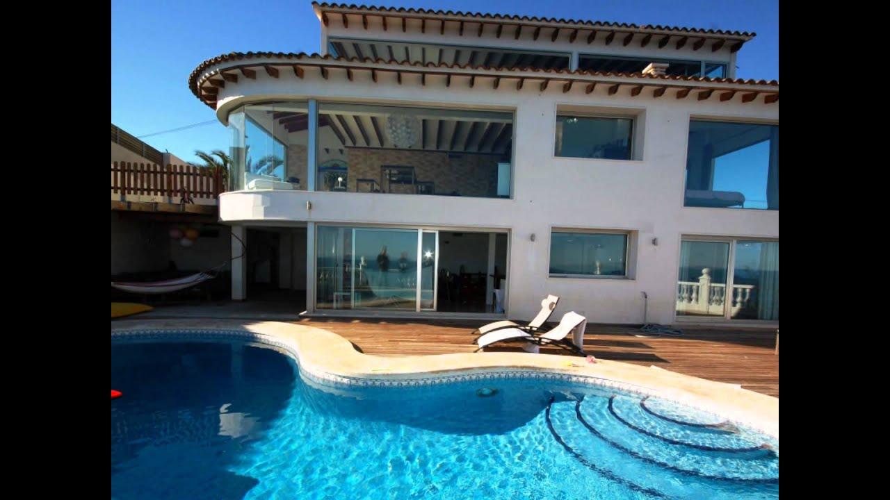 Huizen alicante te koop zeezicht villa el campello for Makelaar huizen