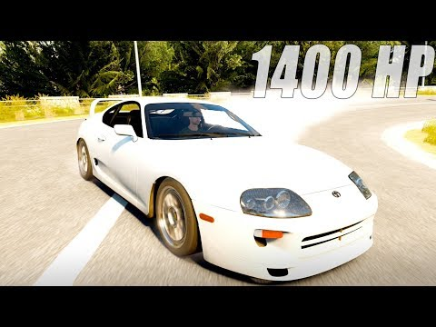 TOP 1000 IN THE WORLD WITH A 1400 HP Supra Fast & Furious Edition