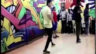 Karan Wahi congratulating Shaleen Bhanot on his music video