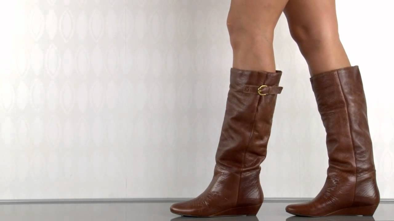 9ce023d4fd1 Steven by Steve Madden Intyce in Cognac Leather - YouTube