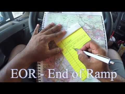Truck Driving Trip Planning 4 - Getting Directions To Your Locations