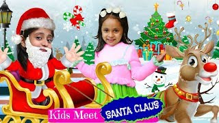 Baixar Kids meet SANTA CLAUS | #Christmas #Gifts #Play #FrozenII #Surprise #MyMissAnand #ToyStars