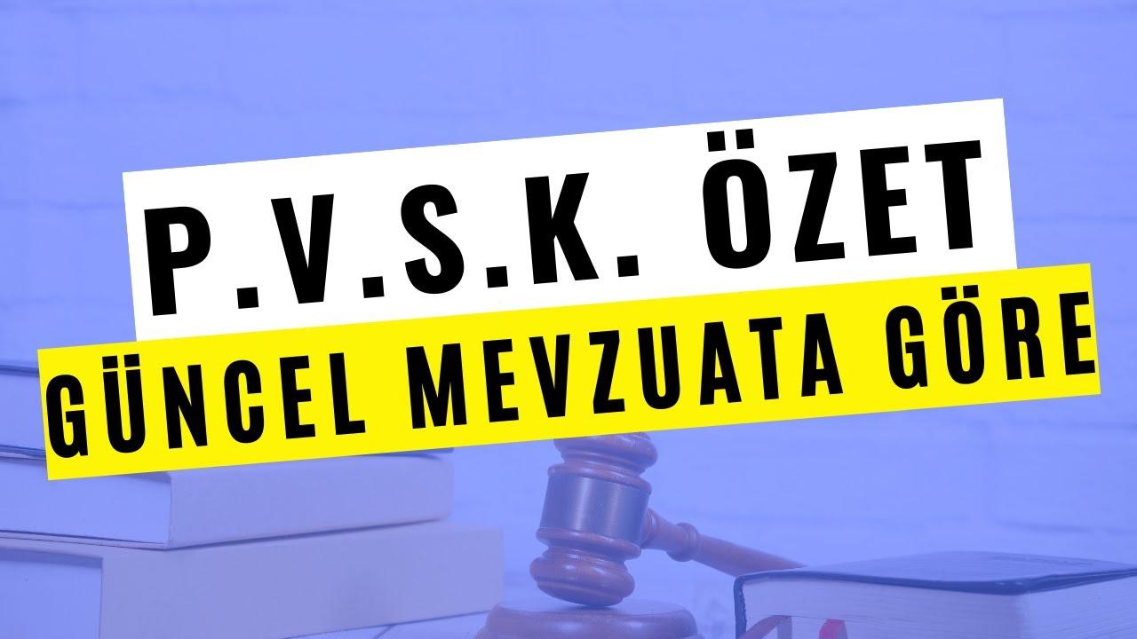 PVSK (2559) SORU CEVAP ÇALIŞMASI