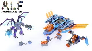 Lego Nexo Knights 70351 Clay´s Falcon Fighter Blaster - Lego Speed Build Review