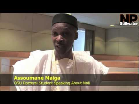 OSU Student Speaks on Mali Events