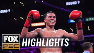 David Benavidez breaks down title win over Anthony Dirrell | HIGHLIGHTS | PBC ON FOX