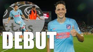 Así fue el DEBUT de SANTIAGO ARIAS en el Atlético de Madrid • Cagliari VS A. Madrid