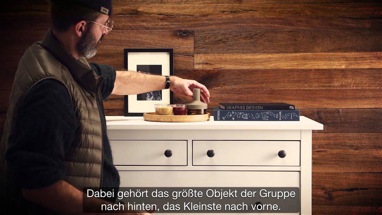 Kommode Dekorieren U2013 Stillleben Für Deine Kommode U2013 IKEA Geheimtipp    YouTube