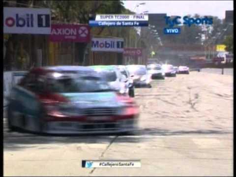 Agustín Canapino fue el gran ganador en el circuito callejero de Santa Fe
