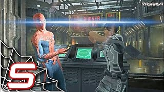 The Amazing Spider-Man (PC) walkthrough part 5 (Oscorp Archieves)