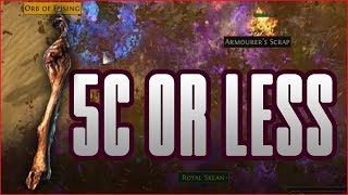 3.0 Path Of Exile - 5c or less explosion wander thumbnail