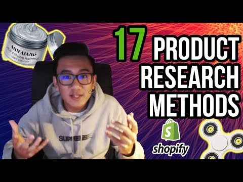 17 DIFFERENT Shopify Product Research Methods - (COURSE OVERVIEW) thumbnail
