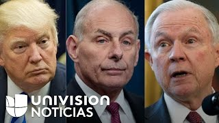 ¿Dreamers pueden o no ser deportados?, la pregunta con la que se contradicen Trump, Kelly y Sessions