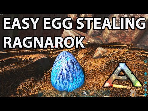 Stealing Wyvern Eggs Solo in Ragnorak the Easy Way: Ark Survival Evolved How to and Tips