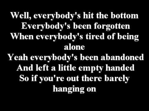 Nickelback - Lullaby - Lyrics