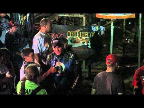 Brushcreek Motorsports Complex 8.7.10 Chad Kinder Post Race