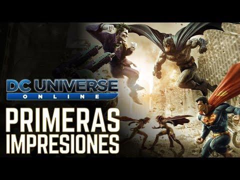 DC Universe Online MMORPG | Primeras Impresiones | Gameplay en Español