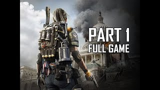 THE DIVISION 2 Walkthrough Part 1 - FULL GAME INTRO (Let's Play Commentary)