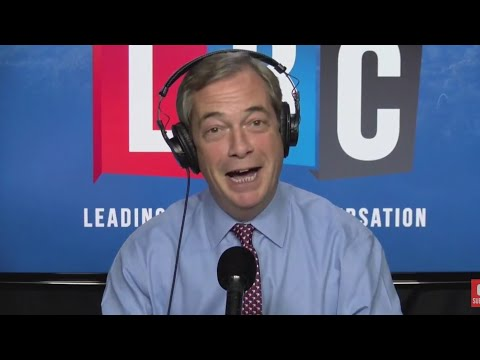 The Nigel Farage Show: Is the PM's trip to Brussels the sign of desperation? LBC - 16th October 2017