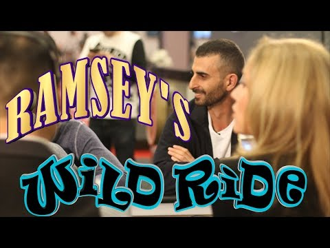 Huge Swings For Ramsey In The Ante Game ♠ Live at the Bike!