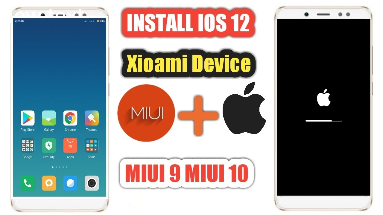 Ios 12 theme on Xioami device |Ios 12 On Miui 9|Ios 12 On Miui 10|Install  IOS 12 On Xioami device