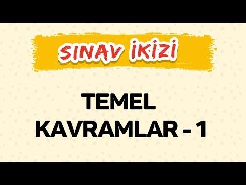 TEMEL KAVRAMLAR 1 - Yeni Nesil Sorular - Şenol Hoca
