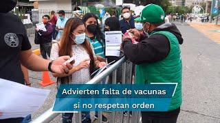 En los primeros tres días de vacunación contra Covid-19 a personas de entre 18 y 29 años en la Ciudad de México hubo un excedente de un poco más de 99 mil dosis de jóvenes que no estaban programados