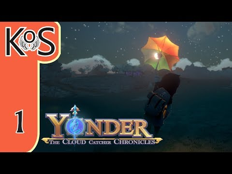 Yonder Ep 1: SHIPWRECKED! - Farming, Fishing, Crafting, Relaxing! - Let's Play, Gameplay