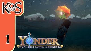 Yonder Ep 1: SHIPWRECKED! - Farming, Fishing, Crafting, Relaxing! - Let