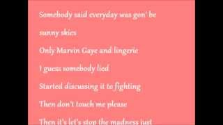 Tamar Braxton Love and War - Lyrics