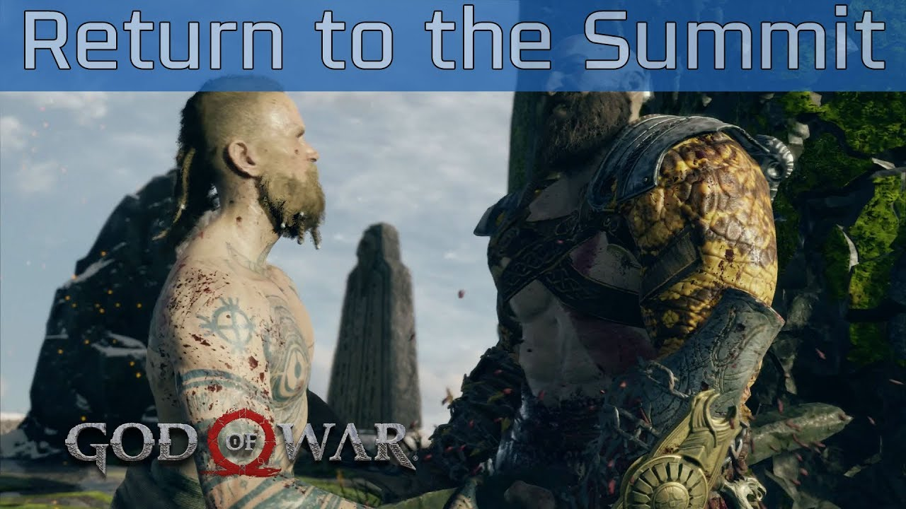 god of war how to return home