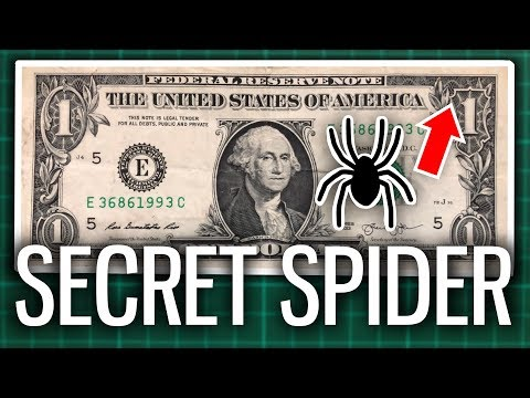 The Secret Spider On The $1 Bill