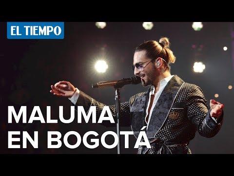 Maluma en concierto en Bogotá l EL TIEMPO