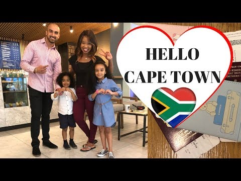 HELLO CAPE TOWN ❤️ | CAPE TOWN VLOG | 1st Impressions of Cape Town | Travel Vlog | SOUTH AFRICA