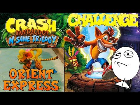 Let's Challenge Crash Bandicoot N. Sane Trilogy (Orient Express): Platin-Relikt | 0:17:63