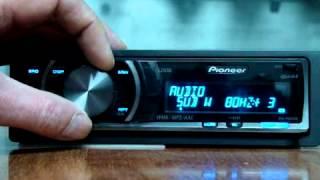 Настройки PIONEER DEH P6000UB