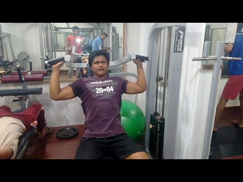 Machine Shoulder Press Exercise Arvind Workout Body Art Gym Youtube