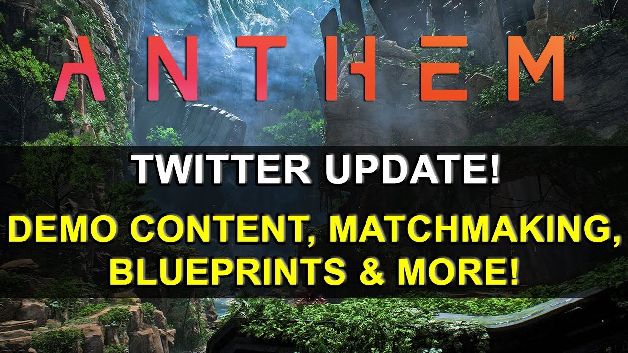 *NEW* Anthem Twitter Update - 38 Answers With Ben Irving