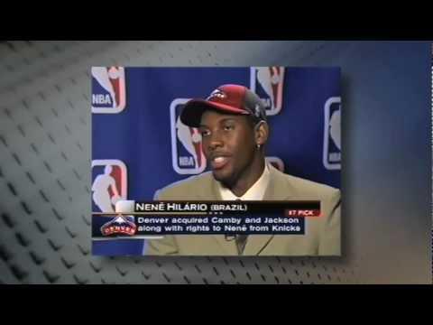 Entrevista com Nene - NBA draft 2002