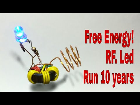 Make Free Energy from radio wave!! Revealed