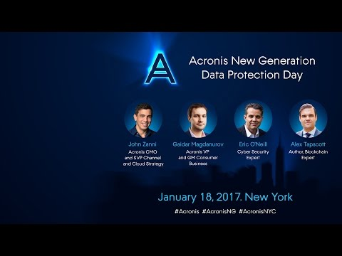 Acronis New Generation Data Protection Day