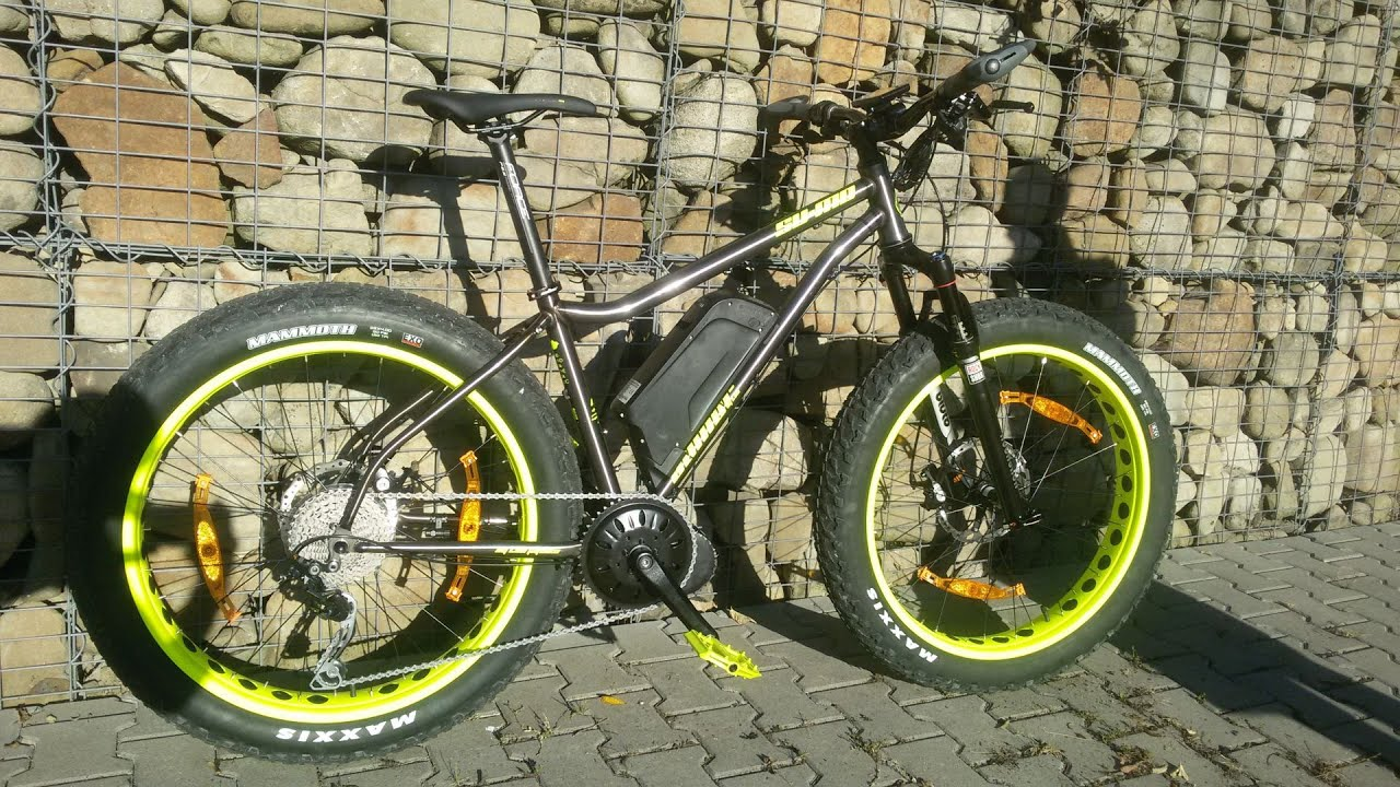 Test E Fat Bike