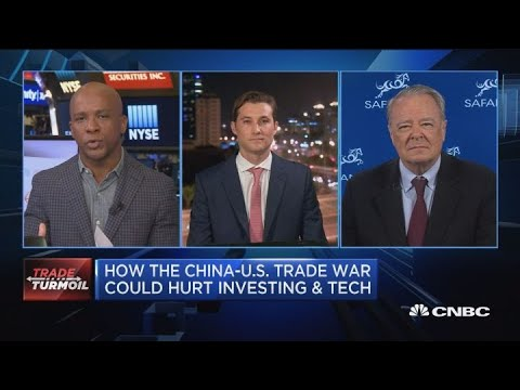 Trade war with China could hurt tech and investing