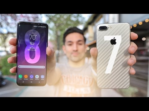 Apple iPhone 7 Plus vs Samsung Galaxy S8 Plus!