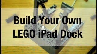 Build Your Own Lego Ipad Stand