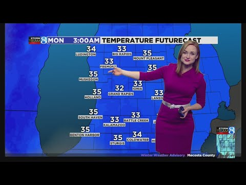 Repeat Storm Team 8 Forecast, 11 p m , 081819 by WOOD TV8