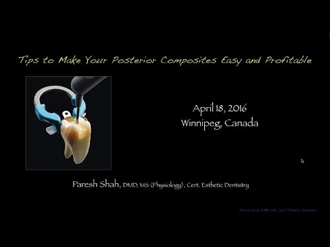 Dental Education: Posterior Dental Composites Easy and Simpl