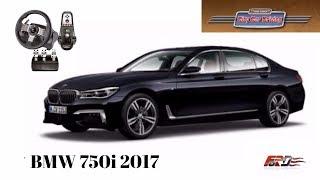 [BMW 750i G11] - тест-драйв, обзор. Жесткая машина, медленный разгон City Car Driving 1.5.4